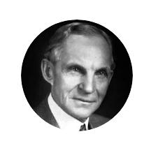 Headshot of Henry Ford